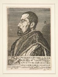 Portrait of Augerius Ghislain de Busbeck