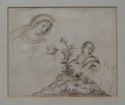 Sheet of Studies (formerly The Madonna and Child)