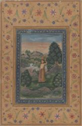 Ragini Gujari, from a Garland of Musical Modes (Ragamala) manuscript