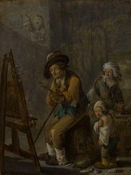 The Poor Painter in His Studio
