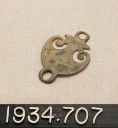 Curved military ornament