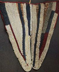 Beaded Leather Apron (Ntepa)