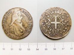 Coin of Emmanuel de Rohan-Polduc from Malta