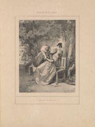 Amitié de pension, from the series Scènes de la vie intime