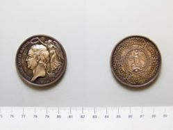 Copper medal of George Lord Anson