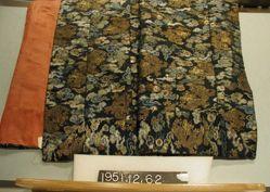 Priest's robe, Zen sect, compound satin, brocaded
