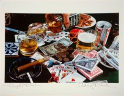 Royal Flush, from the portfolio Audrey Flack: 12 Photographs 1973 to 1983