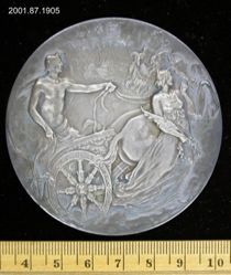 Silver medal for the bicentennial of Yale College