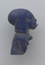 Amulet in the Shape of an Amarna Princess (Portrait Bust of a Royal Child)