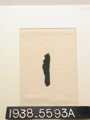Textile, fragment of green twill