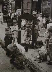 Helen Levitt, New York City (Children with a Broken Mirror)