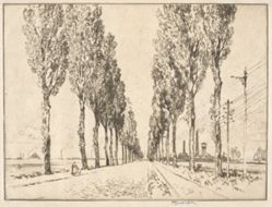 The Avenue near Valenciennes
