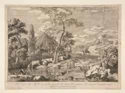 Landscape with a Cattle Herd