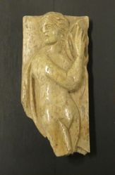 Nude female figure