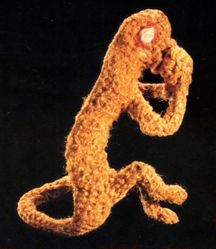 Votive Figure of a Monkey