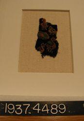 Fragment of slit tapestry
