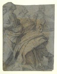 """Copy after Andrea del Sarto's """"Assumption of the Virgin"""""""