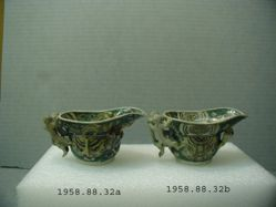 Pair of Libation cups