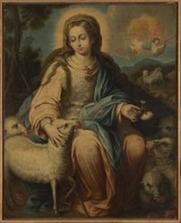 The Virgin as a Shepherdess