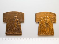 Bronze Plaquette Brittany