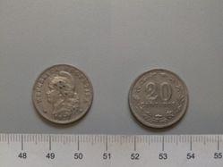 20 Centavos of the Republic of Argentina