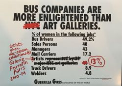 Bus Companies Are Still More Enlightened than Art Galleries