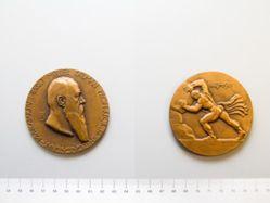 Bronze medal of Baron Muller Kalman