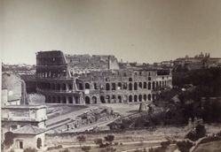 Untitled (Roman Colosseum exterior, whole)