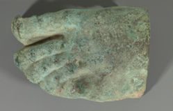 Foot from a Statue