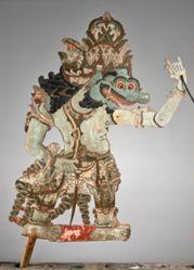 Puppet (Wayang Klitik) of Buta Raton