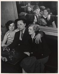 Bal Musette, from A Portfolio of 10 Photographs by Brassai