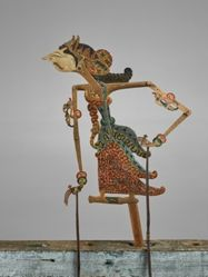 Puppet (Wayang Klitik) possibly of Pregiwa