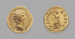 Aureus of Antoninus Pius, Emperor of Rome from Rome