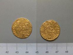 Gold Ducat of Andrea Dandolo from Venice