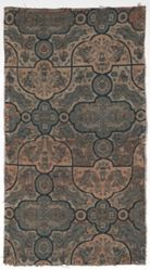Textile Fragment with Figures, Animals, and Plants