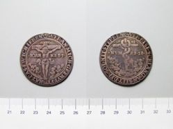 Silver German Religious Medal