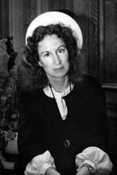 "Donna Ferrato, Margaret Atwood, Author of ""The Handmaids Tale"", New York City, from the series Holy"