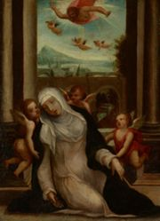 The Ecstasy of Saint Catherine of Siena