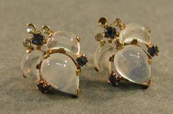 """""""Clair de Lune"""" earrings"""
