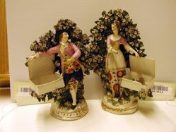 """Pair of Figures, """"Youth"""" and """"Maia"""""""