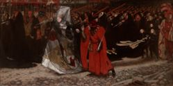 Richard, Duke of Gloucester, and the Lady Anne