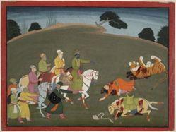 Krishna Declares His Innocence, an illustration from book 10 of a Bhagavata Purana series
