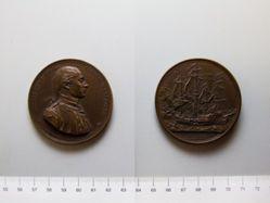 Restrike Medal of John Paul Jones