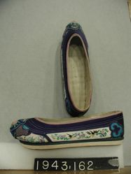Woman's embroidered shoes