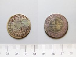 2 Reales of Charles III, King of Spain from Madrid