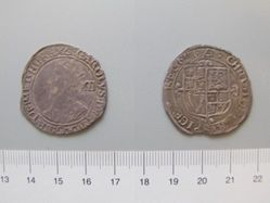 Silver Shilling of Charles I from London