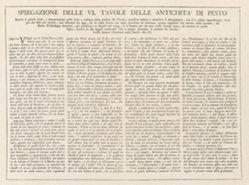 Spiegazione delle VI tavole delle antichità di Pesto (Explanation of the VI Plates of the Antiquities of Paestum)