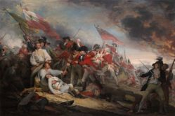 The Battle of Bunker's Hill, June 17, 1775