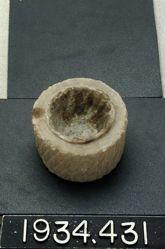 Small Circular Stone Altarette