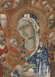 Virgin and Child with Saints and Angels